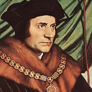 Saint Thomas Moore, humaniste (1478- 1535).