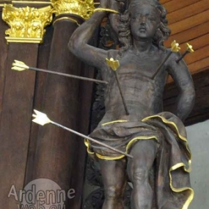 Houffalize. Ste Catherine. St Sebastien (J. Pecourt, ph JM Lesage).