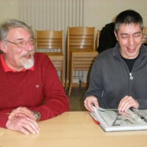 Luc Nollomont et Marc Caprasse: quand le Rouge et le Noir incarnent le Cercle Segnia