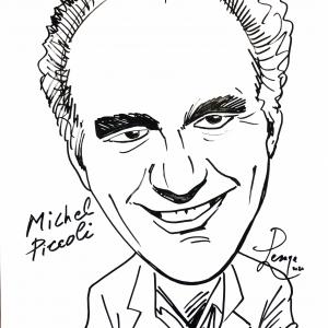 Michel Piccoli_caricature