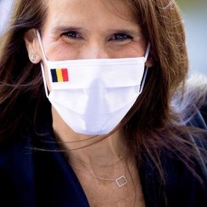 Sophie Wilmès, Première ministre (photo de profil facebook)