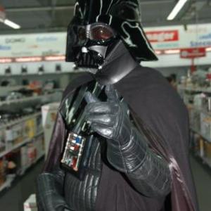 Dark Vador au Media Markt