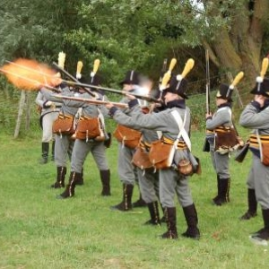Tirs des Prussiens (Hougoumont)