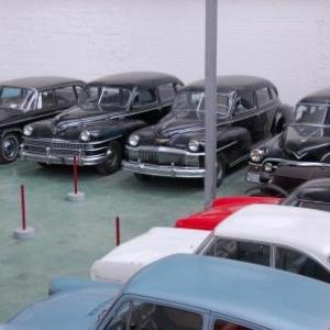 Le musée de l'automobile de Leuze