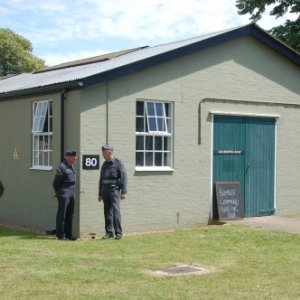 Barraquements typiques de la RAF