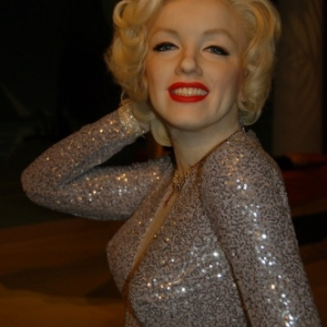 Marylin chez Madame Tussauds
