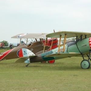 RAF SE5a Wolseley Viper et Nieuport 28