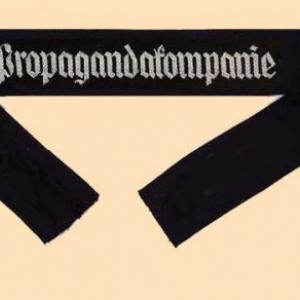 bande de manche propagandakompanie sans grade