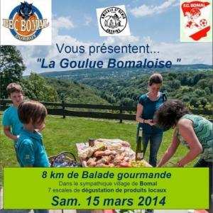 """Randonnée gourmande """"La Goulue Gourmande"""" - Bomal"""