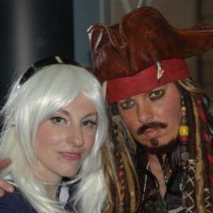 Jack Sparrow and friend