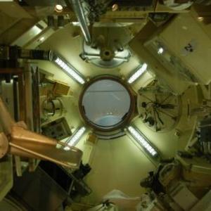 Interieur d'un module scientifique