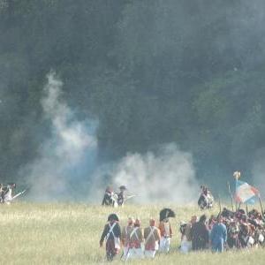 L'assaut francais (Hougoumont)