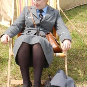 Membre feminin de la Luftwaffe