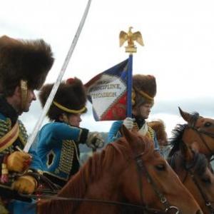 Les chasseurs à cheval de la garde (Plancenoit)