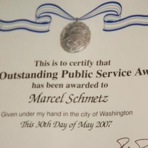Medaille pour services publics exceptionnels