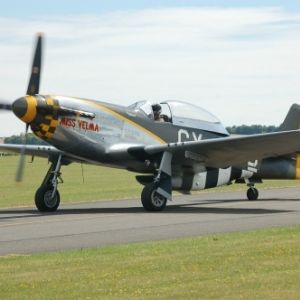 P-51D (crash du dimanche)