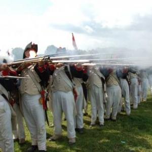Tirs de l'infanterie de ligne francaise (Plancenoit)