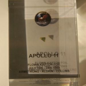 Morceau de la capsule Apollo 11