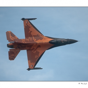 F16 Hollandais (photo Michel van Reysen)