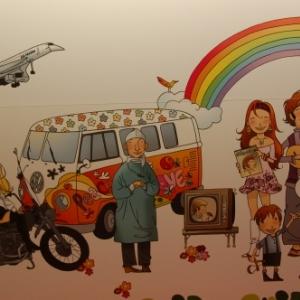 Expo Golden Sixties - Liège Guillemins