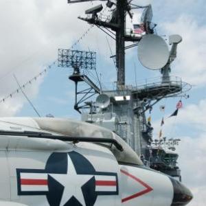 Tour de controle de l'USS intrepid