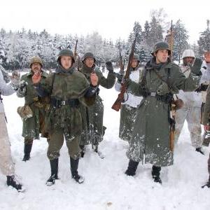Baugnez 1944 - 2ème reconstitution 2011