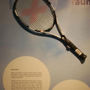Raquette de Tennis anti-vibratoire