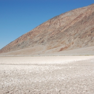 Death Valley - Bad Water Bassin (en-dessous du niveau de la mer)