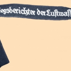Bande de manche reporter sans grade (Luftwaffe)