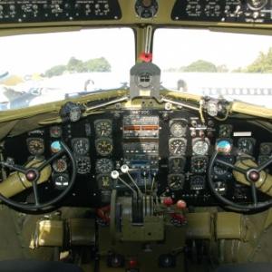 C47 Dakota vue interne