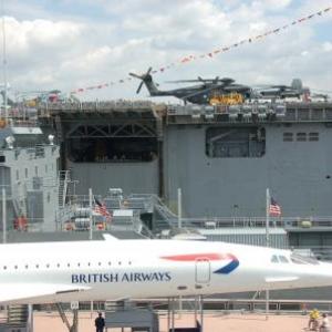 Concorde et porte-helicoptere