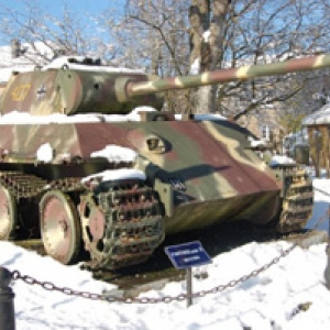 Panther G sous la neige (Grandmenil)