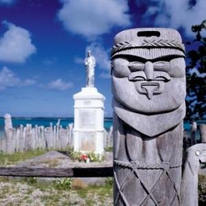Statue St. Mauric - (c) Nouvelle Caledonie Point Sud