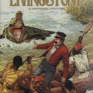 La vie de Livingstone en BD
