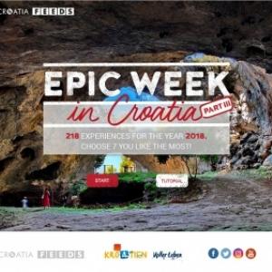 Votre Epic Week en Croatie : Choisissez 7 choses à faire en Croatie et gagnez le voyage de votre vie