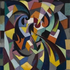 Edmond Van Dooren (1896-1965), Compositie, 1920, Privéverzameling