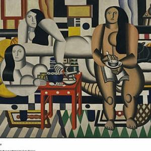 Fernand Léger, Le déjeuner, cpywright Sabam belgium 2016