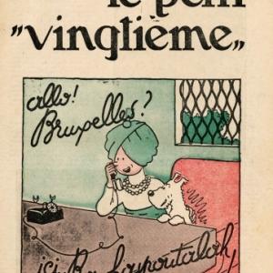 In het kader van Europalia India : Hallo! Brussel? hier Rawhajpoetalah! - Museum Hergé, van 26 oktober tot  26 januari 2014