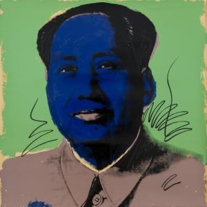 ,Mao, 1972, zeefdruk, Collection particulière, Lasne, © The Andy Warhol Foundation for the Visual Arts, Inc. / SABAM Belgium 2013