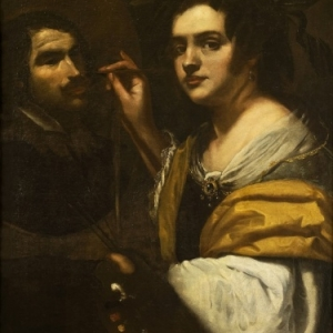 Artemisia Gentileschi, zelfprotret