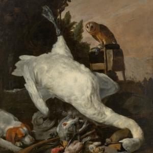 Nature morte de chasse avec un cygne, Peeter Boel (1622-1674), © Studio Tromp, Rotterdam