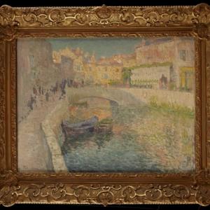 Petit canal à Venise © Leduc © MiLL