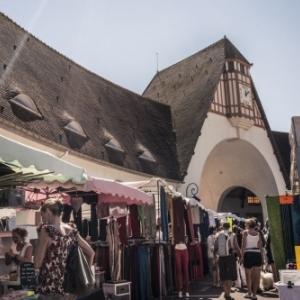 marché du terroir au Touquet