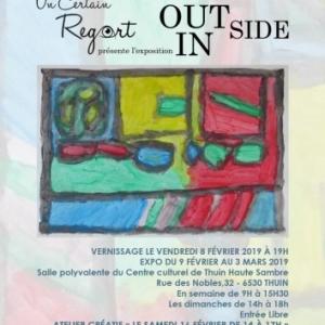 L'asbl Un Certain RegArt organise l'exposition :« Inside/Outside » au Centre culturel de Thuin