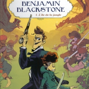 Benjamin Blackstone T1 L'île de la jungle chez Casterman