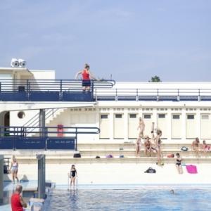 piscine art déco Bruay