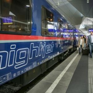 Lancement du nouveau train de nuit « Nightjet » de Bruxelles à Vienne
