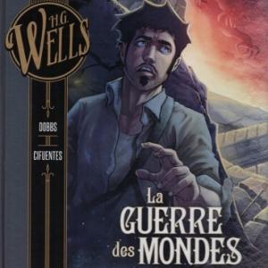 La Guerre des mondes de H.G. Wells en deux tomes chez Glénat
