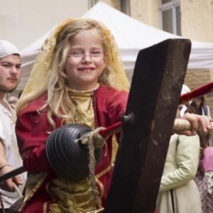 Family Day dans le cadre du Carolus V festival le 2 juin au Coudenberg à Bruxelles