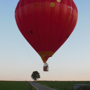 montgolfiere a boeur